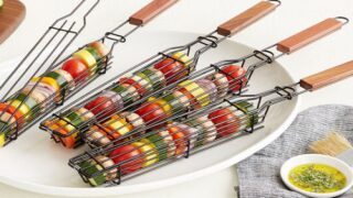 Make Skewerless Kabobs With These Grilling Baskets