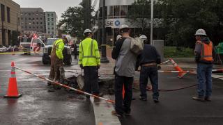 denver explosion downtown worker