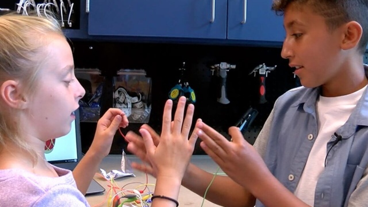 iLab focuses kids on STEAM learning