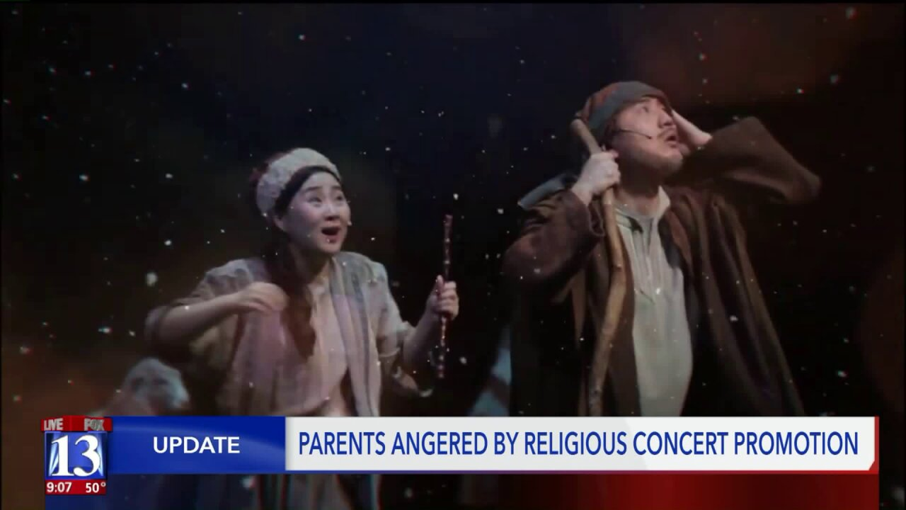 ACLU responds to public schools promoting religious events