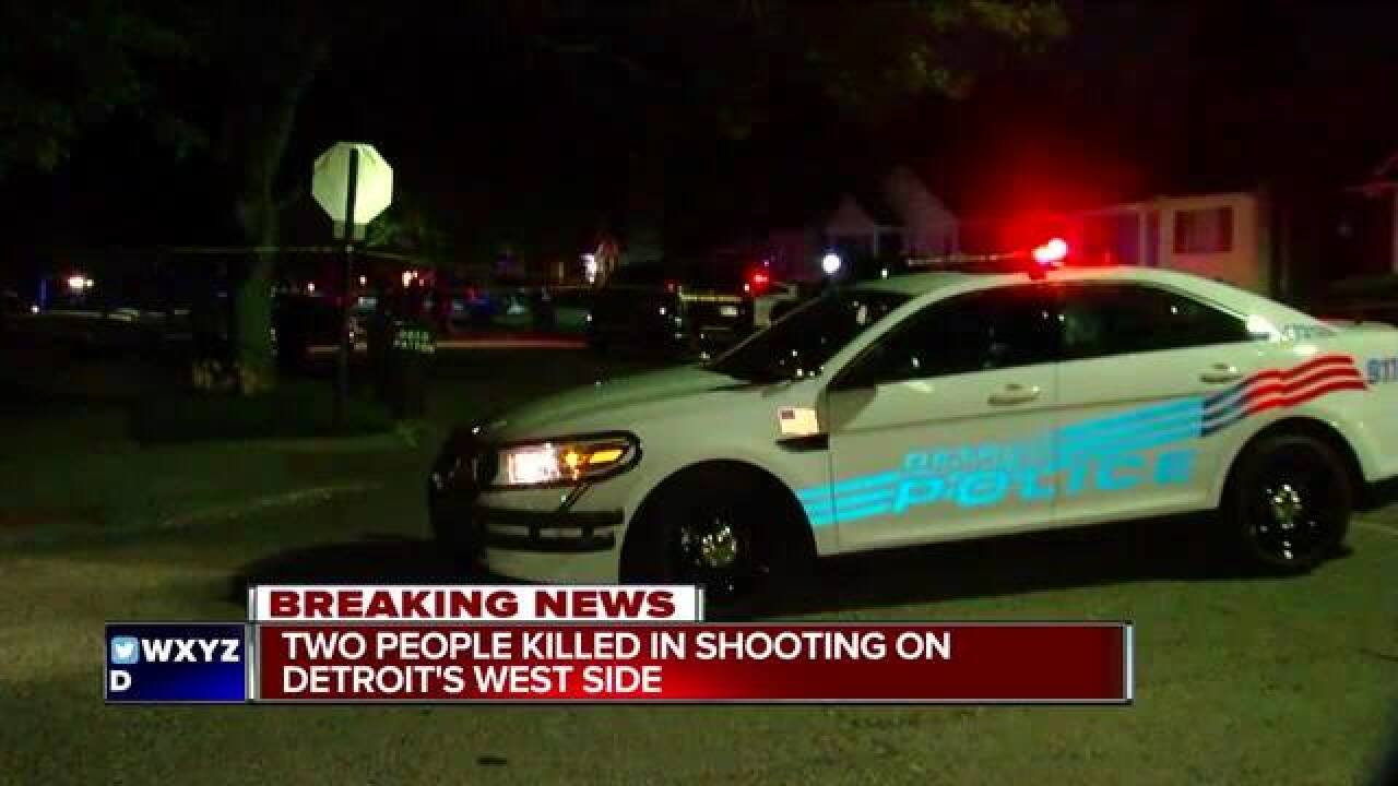 Masked men shoot, kill couple at Detroit home