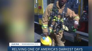 This 9/11 first responder now trains Virginia athletes: 'This is serving my purpose'