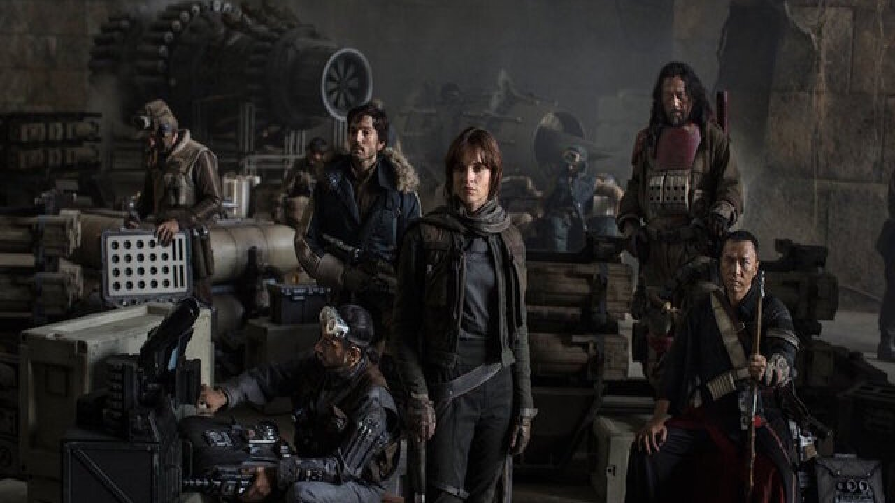 'Rogue One: A Star Wars Story' has biggest Thursday box office of the year