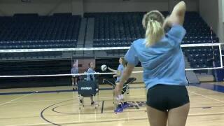 Volleyball match a showcase for Nebraska volleyball