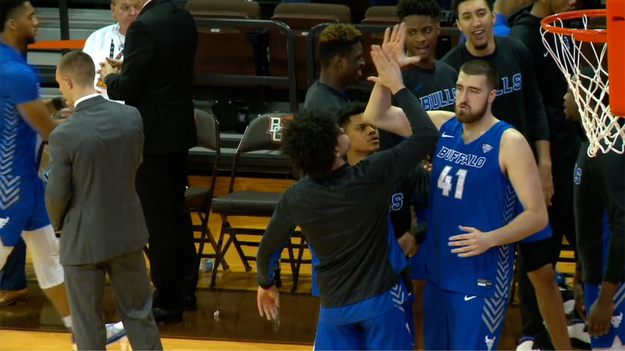 UB men's hoops vs. Bowling Green