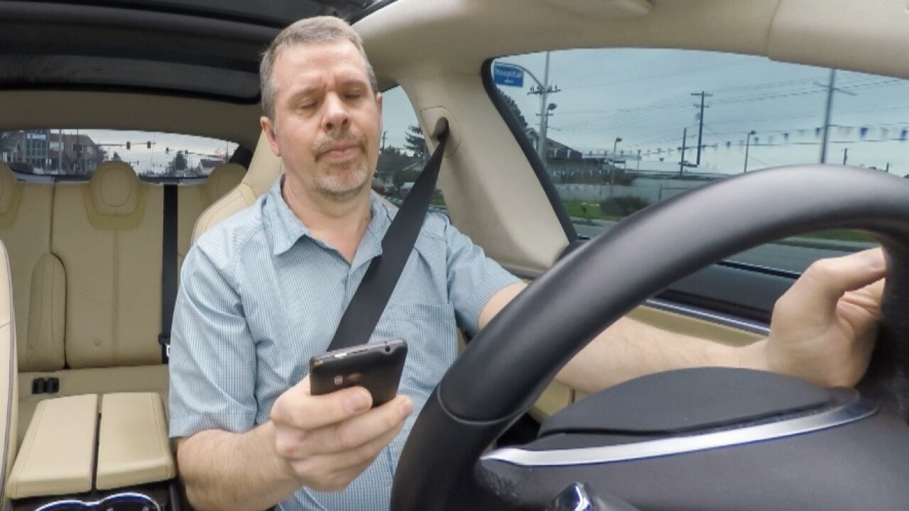 A new hands-free law about to go in effect is a complete ban on using handheld devices behind the wheel.