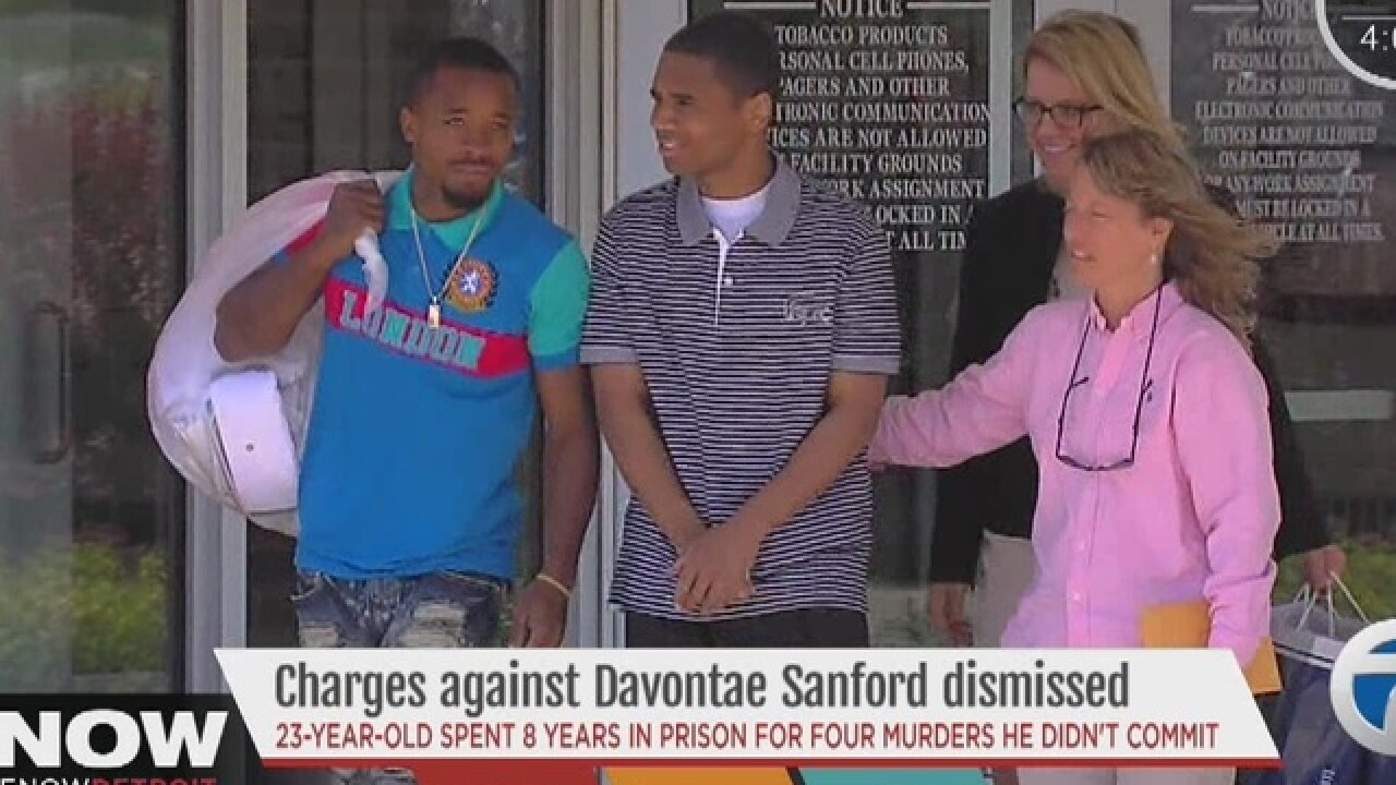 Murder case dismissed against Davontae Sanford