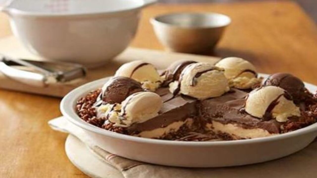 Crispy Chocolate Ice Cream Mud Pie Takes The Classic Freezer Pie To A New Level