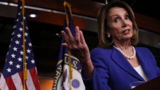 Speaker Nancy Pelosi Addresses The Media In Her Weekly Press Conference