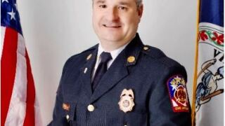 New Kent Chief Rick Opett named Virginia Fire Chief of the Year