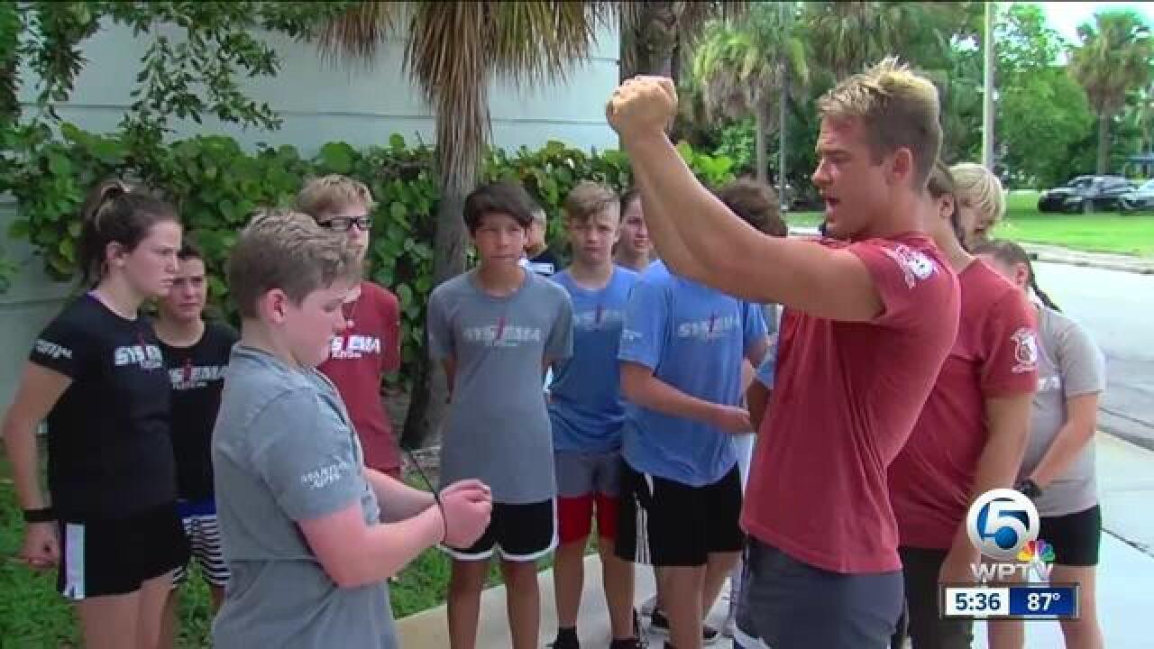 Local kids learn life-saving skills