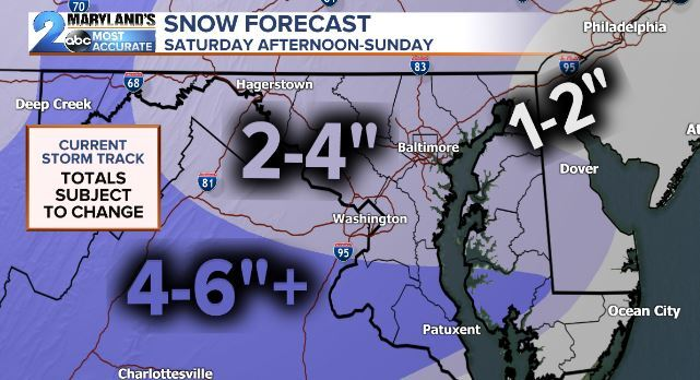 "Weekend Minor Mess (2-4"" Snow Totals)"