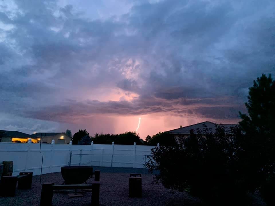 Lightning over Pueblo West