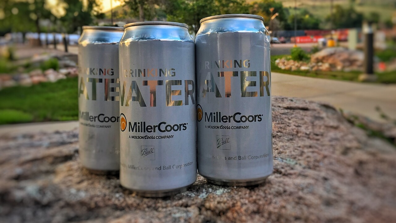 MillerCoors water