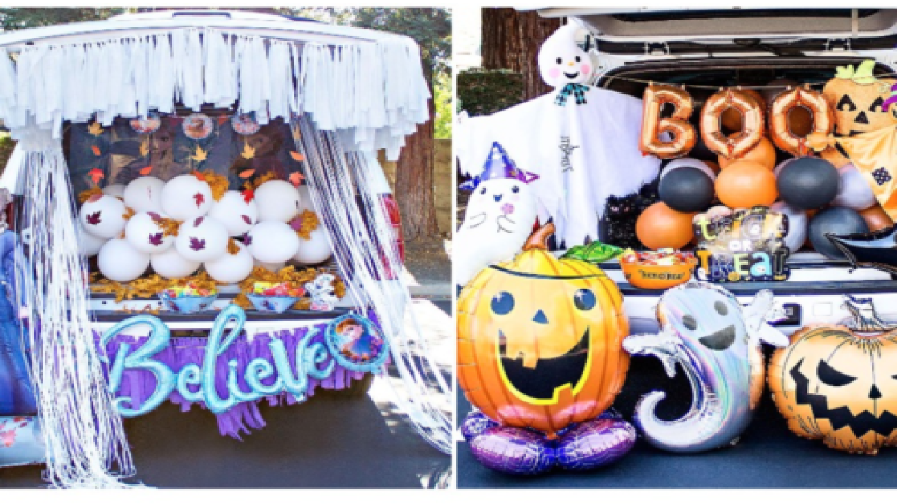 Party City Is Selling Cute Halloween Trunk-or-treat Theme Packs