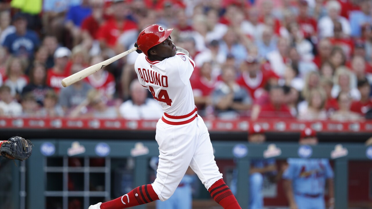 Cincinnati Reds rookie Aristides Aquino remains humble despite historic  home runs