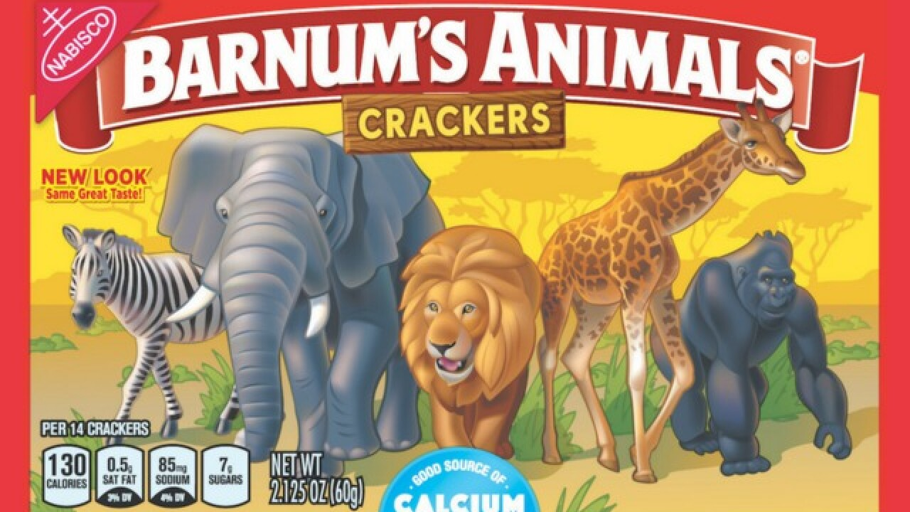 Animal crackers to no longer be caged behind bars as boxes get new look