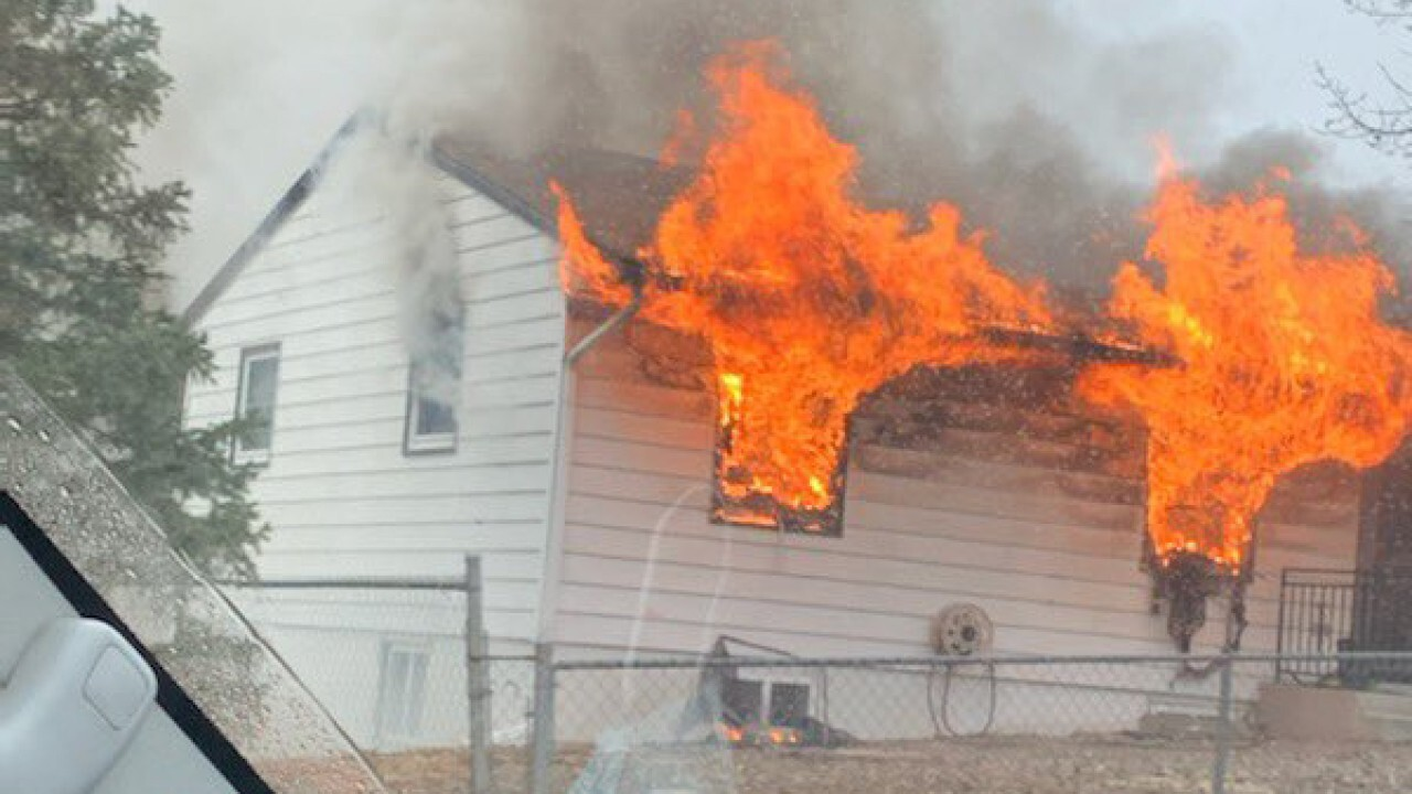 Northview home fire