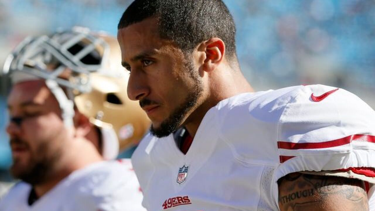 Kaepernick says he'll donate $1 million to community organizations