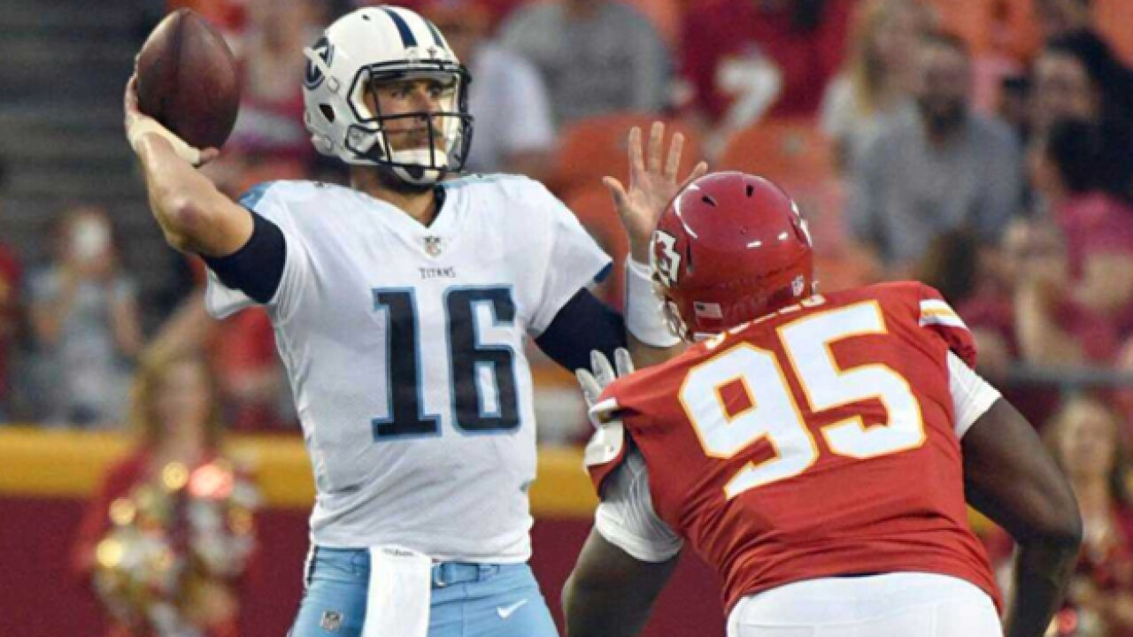 Titans Fall To Chiefs To Cap DisMal Preseason