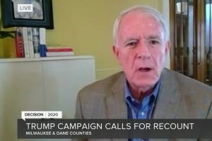 Mayor Tom Barrett responds to President Trump requesting recount