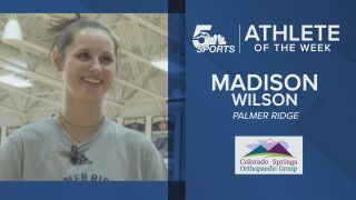 KOAA Athlete of the Week: Palmer Ridge's Madison Wilson