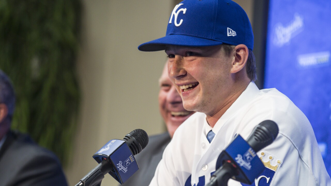 Royals sign their top draft pick, Florida's Brady Singer