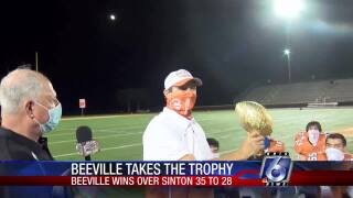 Gritty Beeville hangs on to claim Thomas J. Henry trophy this week