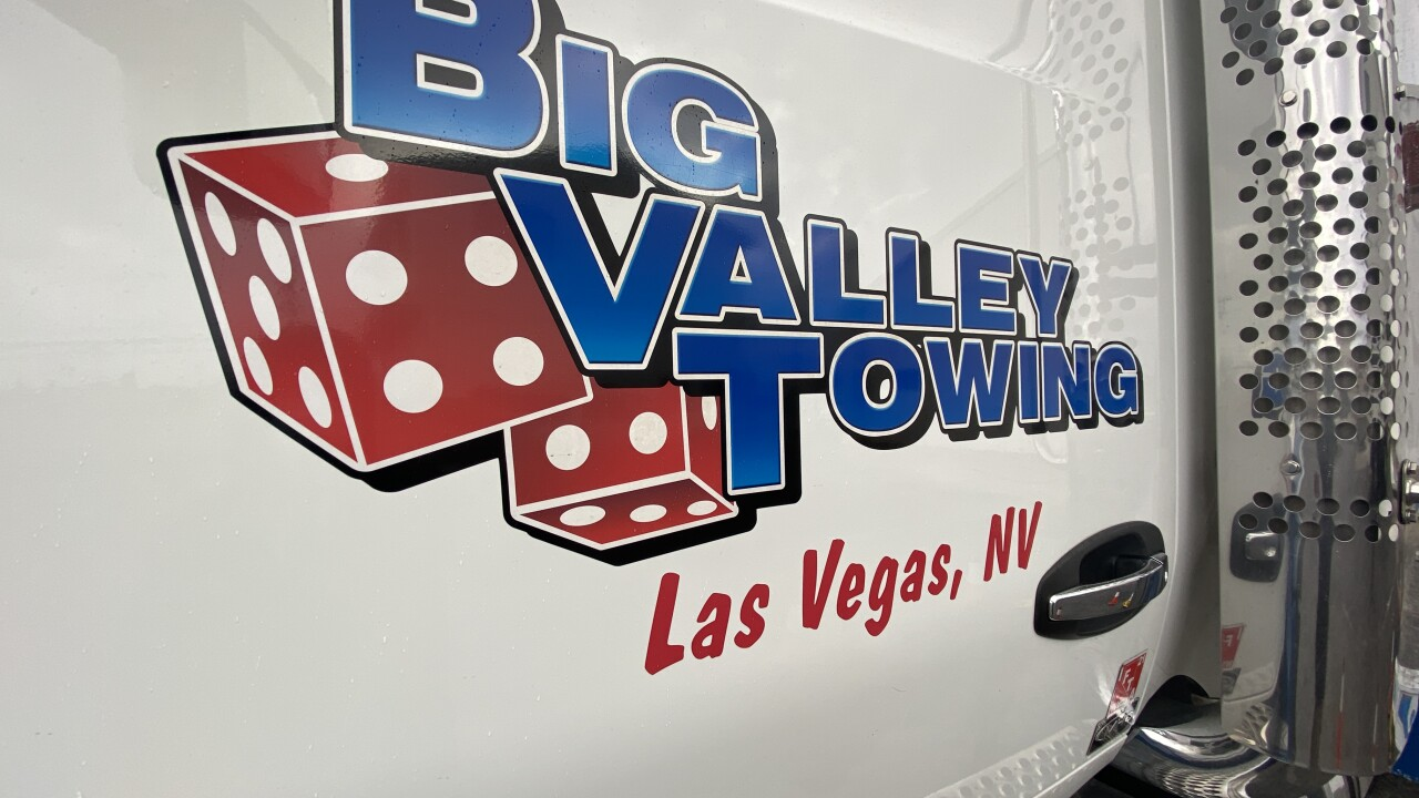 Big Valley Towing operates a variety of tow vehicles including heavy duty trucks in Las Vegas