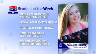 Student of the Week: Natalee Deschamps