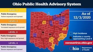 Public Health Advisory Dec. 3