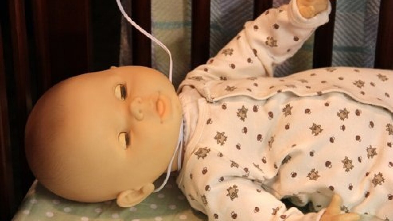 Warnings raised about baby monitor cord strangulation risks