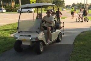 Wellington golf cart