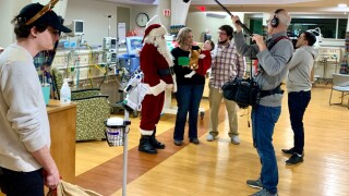 Pewaukee father spreads holiday cheer to babies, families spending Christmas in the NICU