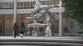 New book reveals art hiding in New York