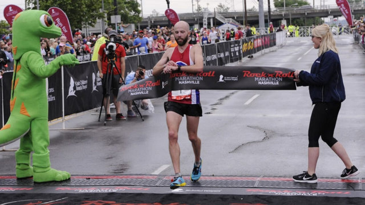 PE Teacher Wins 4th Consecutive Marathon