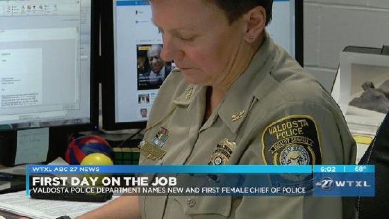 Valdosta Police names first woman chief of police.jpg
