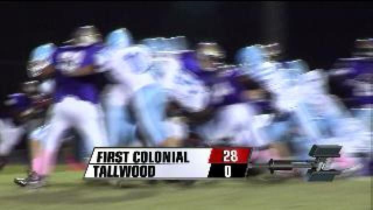 First Colonial shuts out Tallwood 28-0