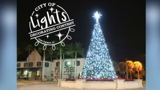 Fort Pierce City of Lights Decorating Contest