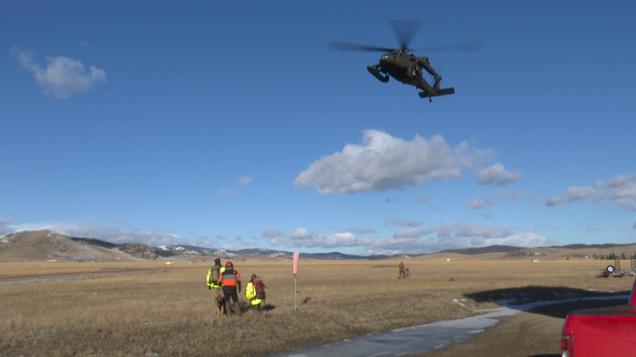 Fort Harrison Helicopter Training 3
