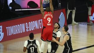 Raptors Nets Basketball