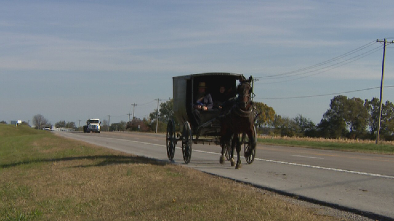 THP Lawrenceburg sounds the alarm after surge in Amish buggy crashes