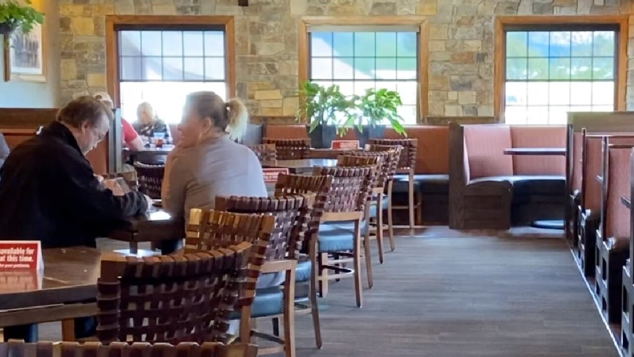 Missoula restaurants seeing slow increase in customers following reopening