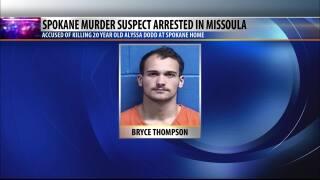 Spokane murder suspect appears in Missoula court