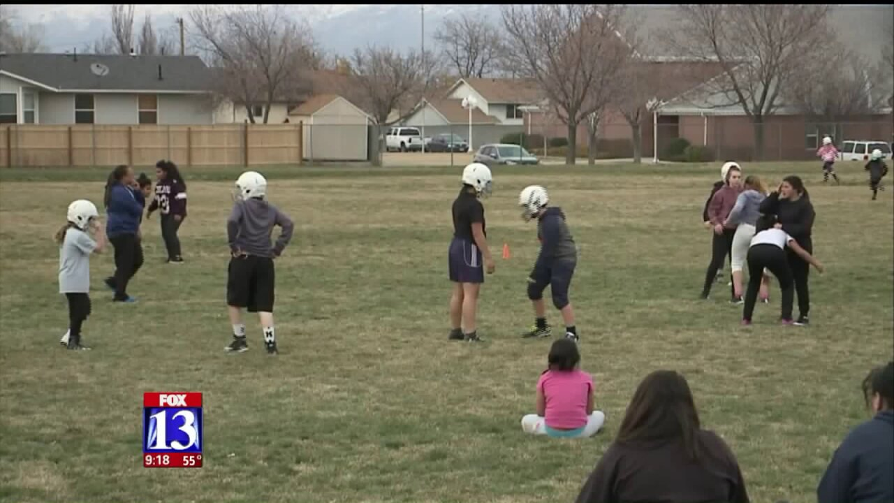 Tackle football league for girls growing fast inUtah