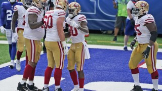49ers Giants Football