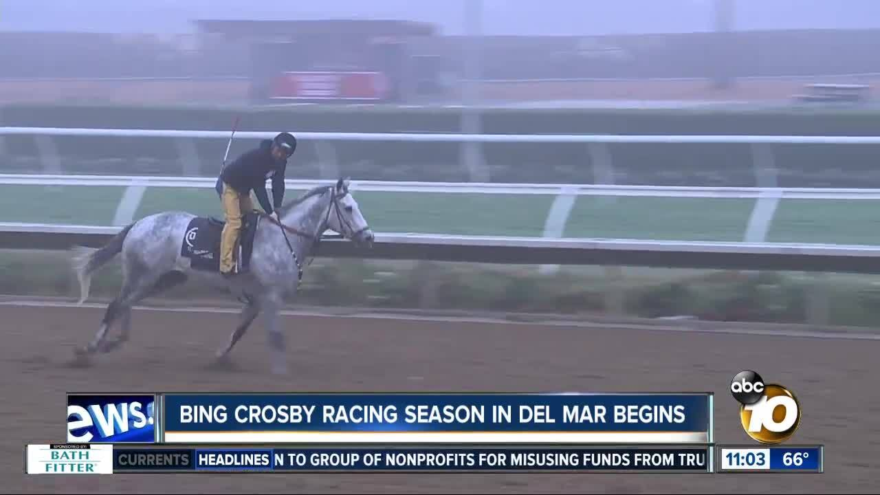Bing Crosby racing season begins in Del Mar