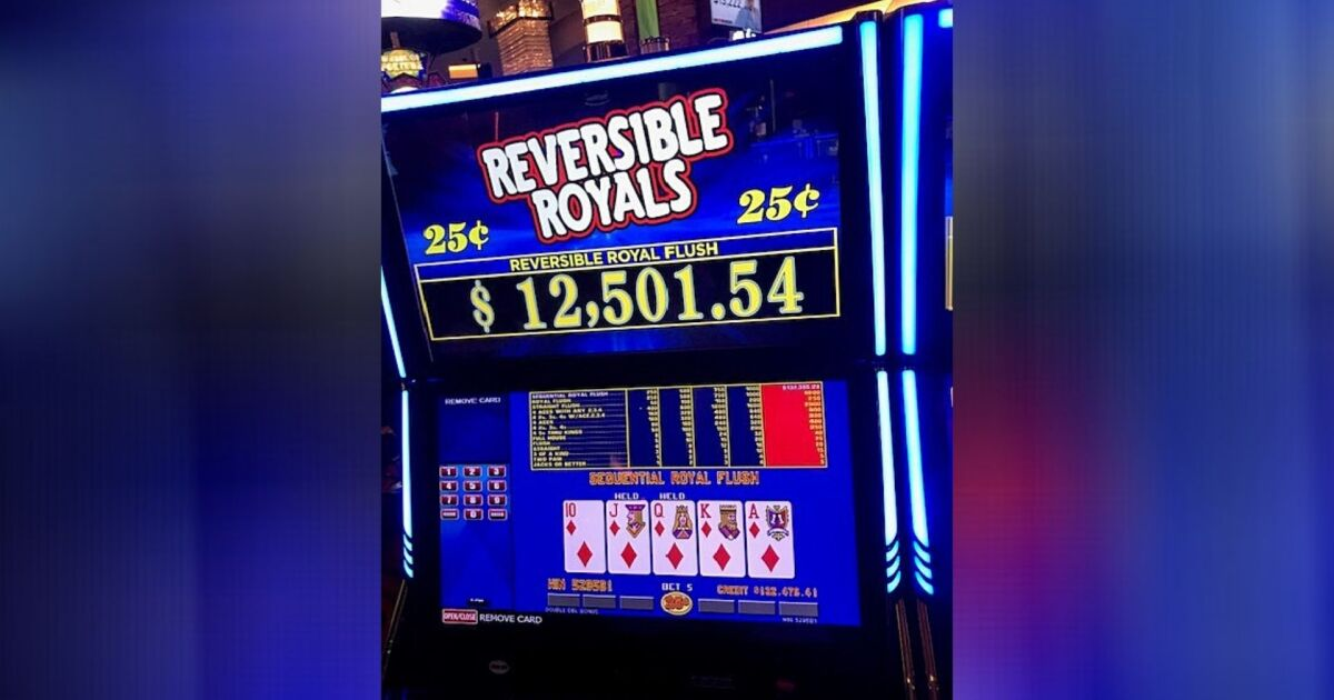 Slot player turns $1.25 wager into $132K+ jackpot at Las Vegas-area casino