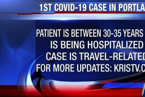 First confirmed COVID-19 case in Portland