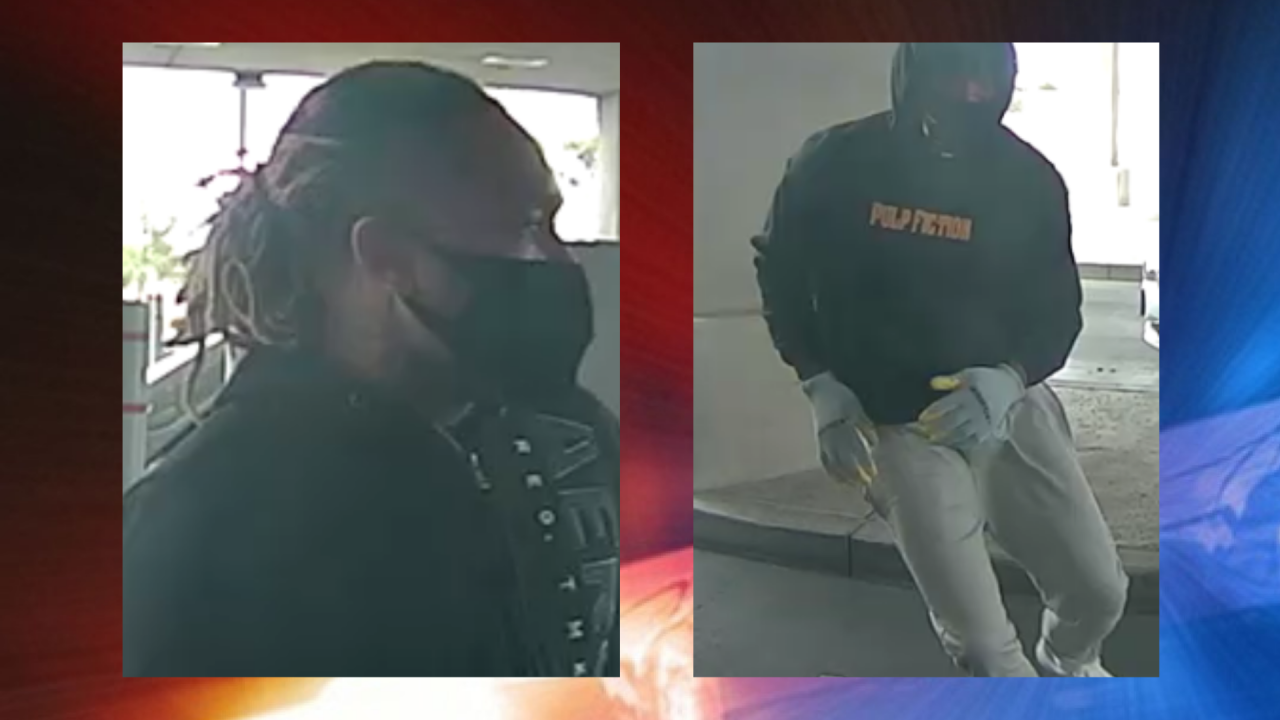 APRIL 27 ROBBERY SUSPECTS